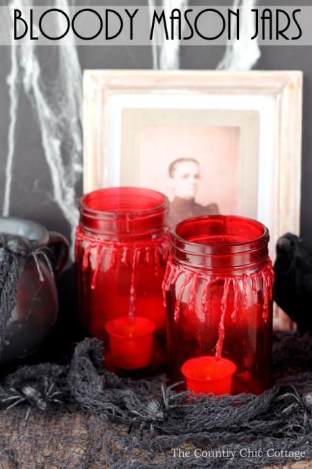 bloody mason jars