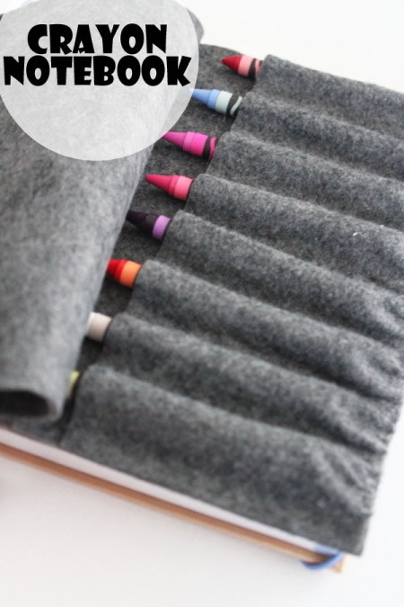 Crayon Notebook - and it smells like Vanilla!