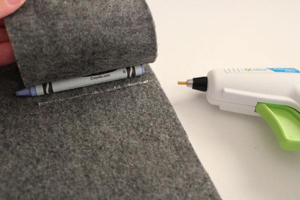 keep adding lines of glue