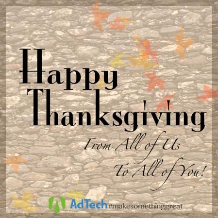Thanksgiving Graphic AdTech KLSsharp 550