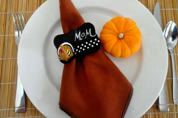 Thanksgiving Napkin Ring Photo A Beauty Shot