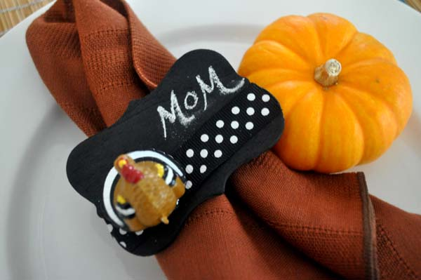 Thanksgiving Napkin Ring Photo E