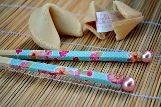 Floral Chopsticks A