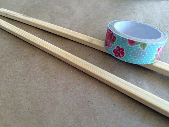 Floral Chopsticks B